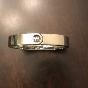 Silver Michael Kors bangle